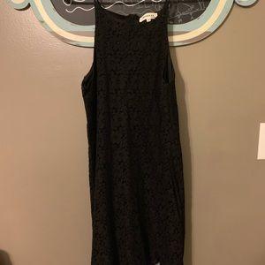 Black mini lace dress!